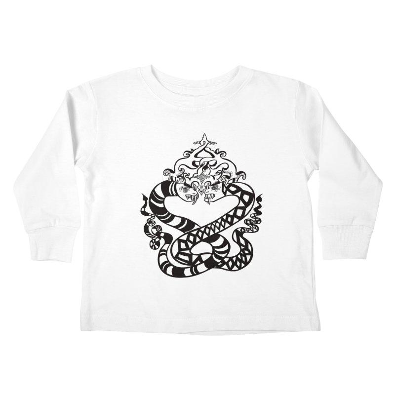 Lovelocked Kids Toddler Longsleeve T-Shirt by Julie Murphy's Artist Shop