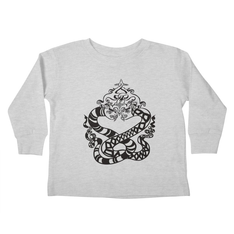 Lovelocked Kids Toddler Longsleeve T-Shirt by Julie Murphy's Artist Shop
