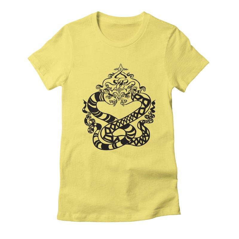 Lovelocked Women's Fitted T-Shirt by Julie Murphy's Artist Shop