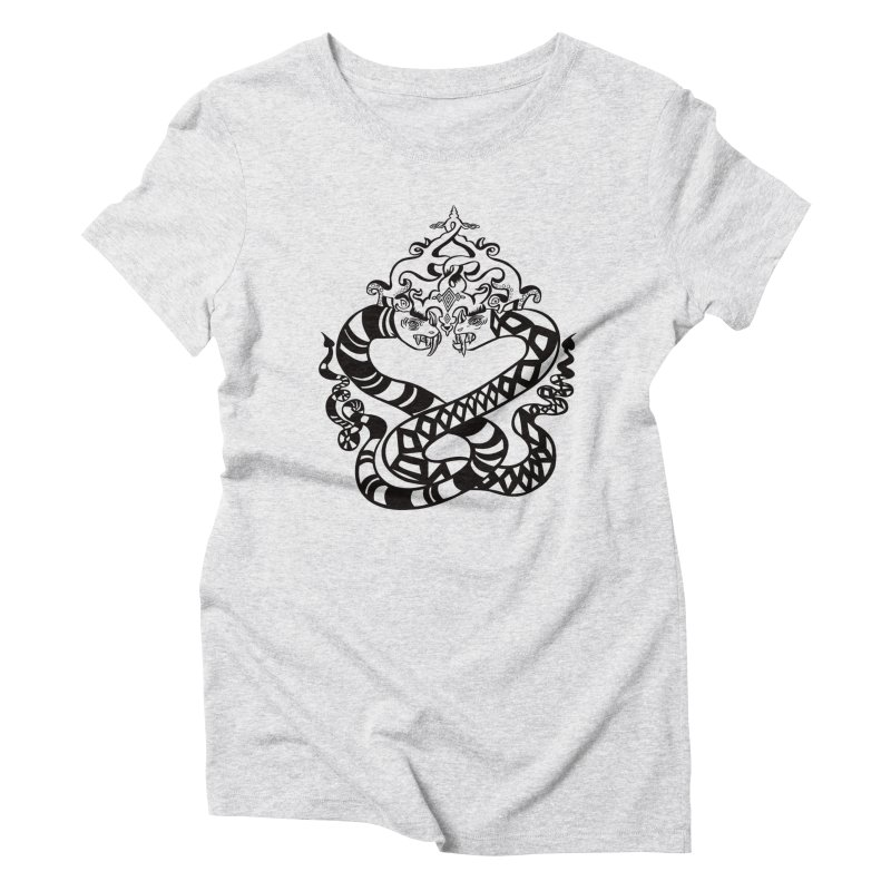 Lovelocked Women's Triblend T-Shirt by Julie Murphy's Artist Shop