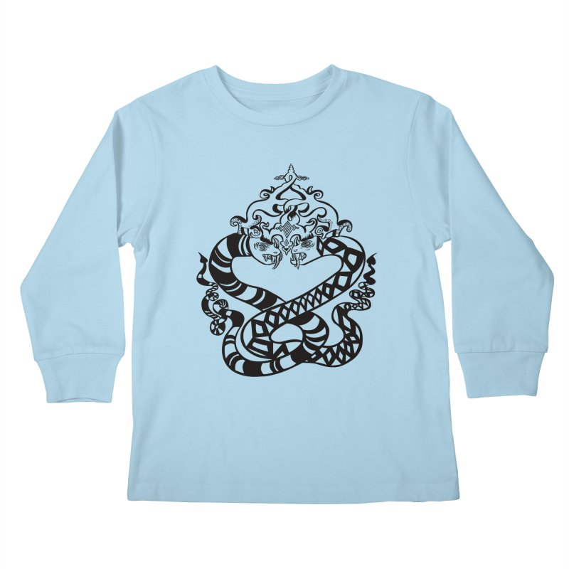 Lovelocked Kids Longsleeve T-Shirt by Julie Murphy's Artist Shop