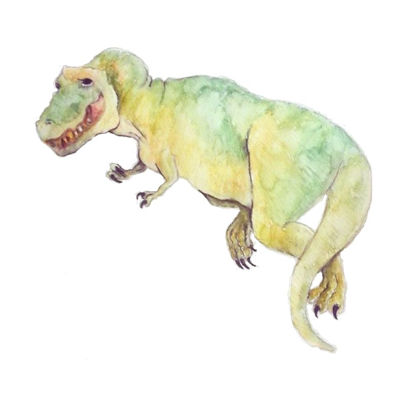t-rex in watercolour None  by designs by julie sweetin