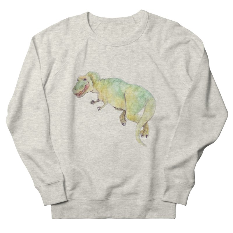 t-rex in watercolour Men's Sweatshirt by designs by julie sweetin