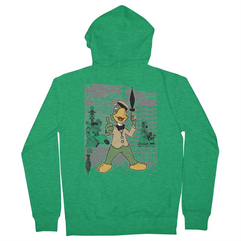 Agent of SAMBA Women's Zip-Up Hoody by Julio's Artist Shop