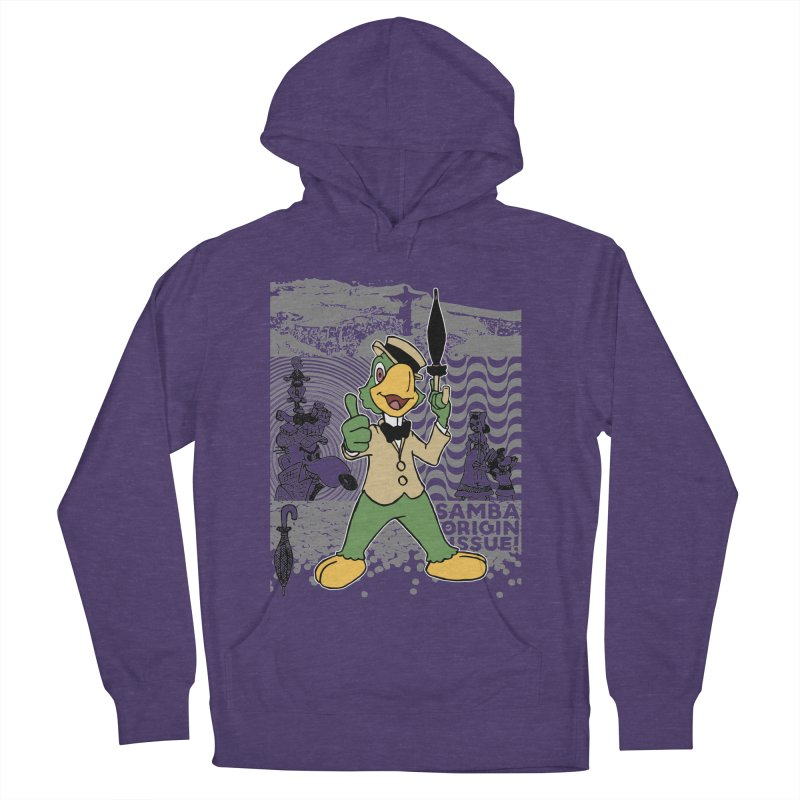 Agent of SAMBA Women's French Terry Pullover Hoody by Julio's Artist Shop