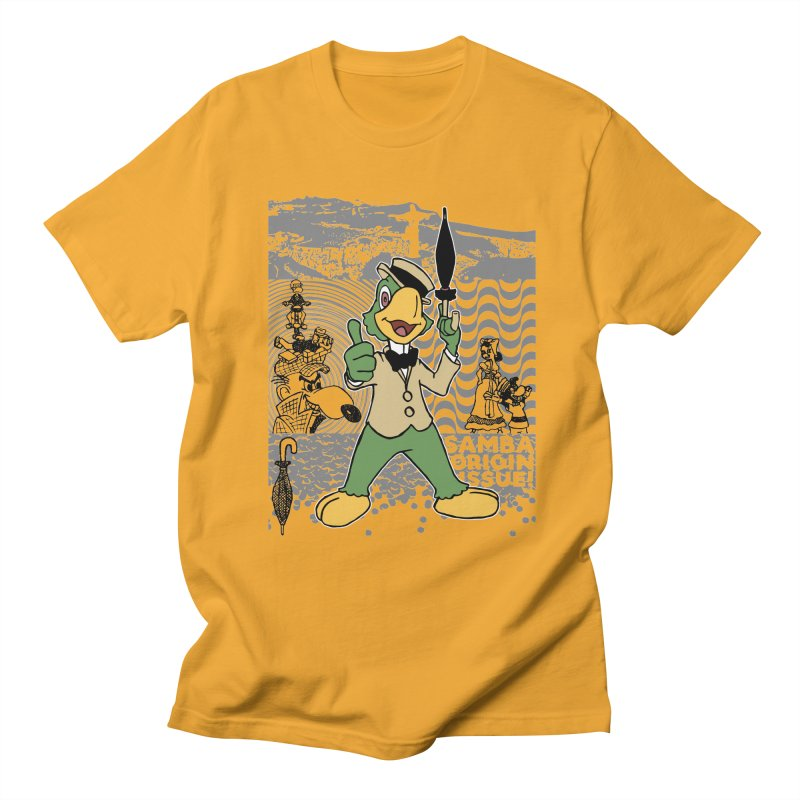 Agent of SAMBA Men's Regular T-Shirt by Julio's Artist Shop