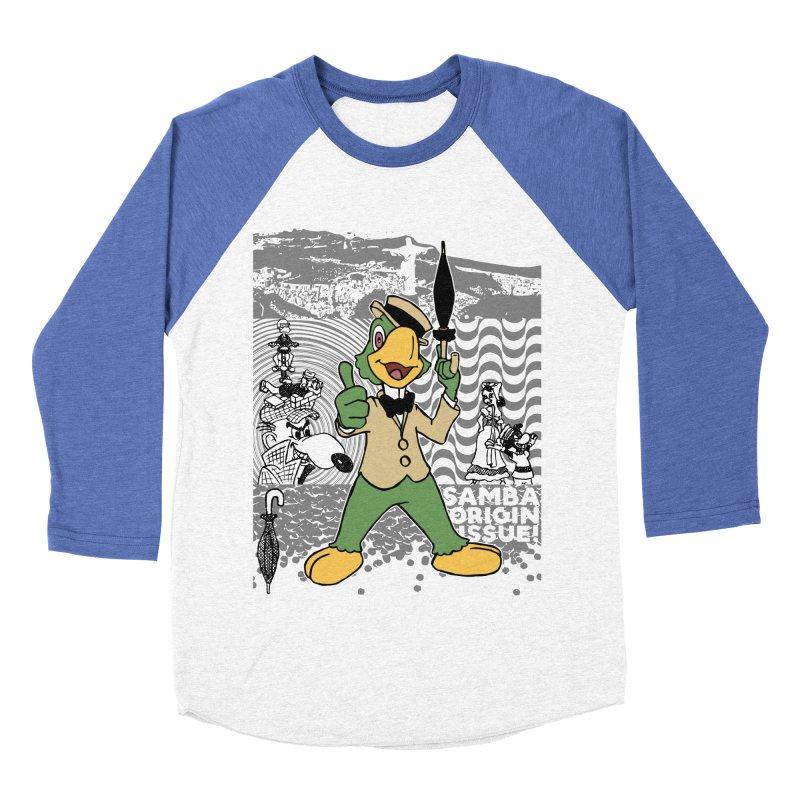 Agent of SAMBA Women's Baseball Triblend Longsleeve T-Shirt by Julio's Artist Shop
