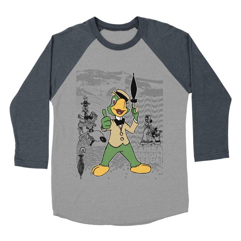 Agent of SAMBA Men's Baseball Triblend Longsleeve T-Shirt by Julio's Artist Shop