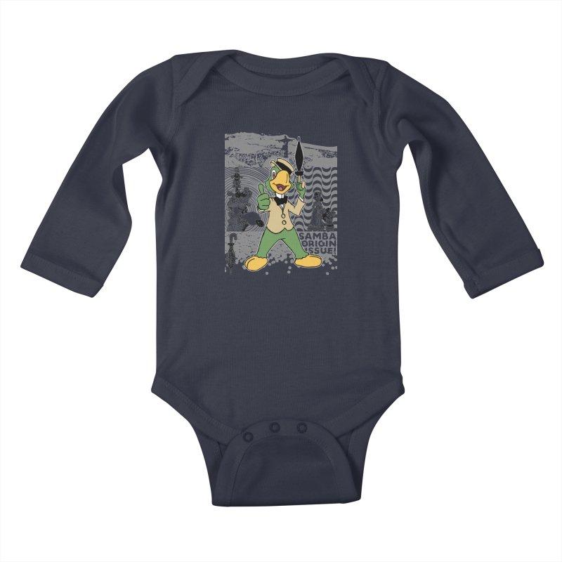 Agent of SAMBA Kids Baby Longsleeve Bodysuit by Julio's Artist Shop