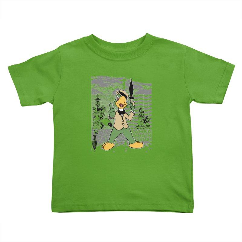 Agent of SAMBA Kids Toddler T-Shirt by Julio's Artist Shop