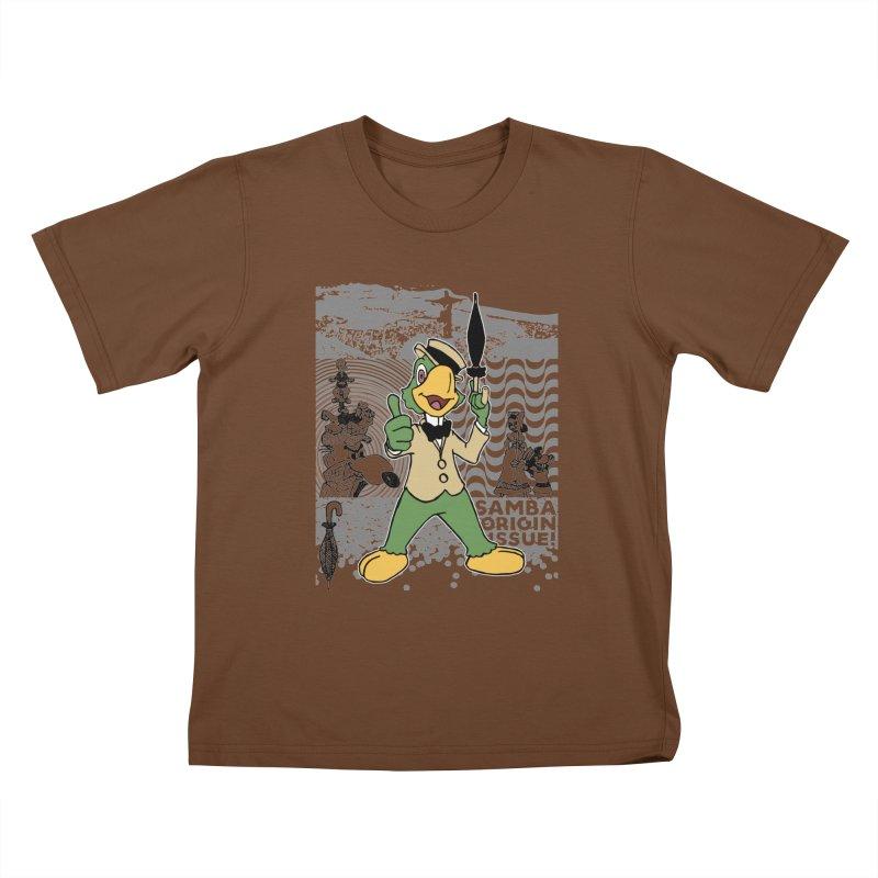 Agent of SAMBA Kids T-Shirt by Julio's Artist Shop