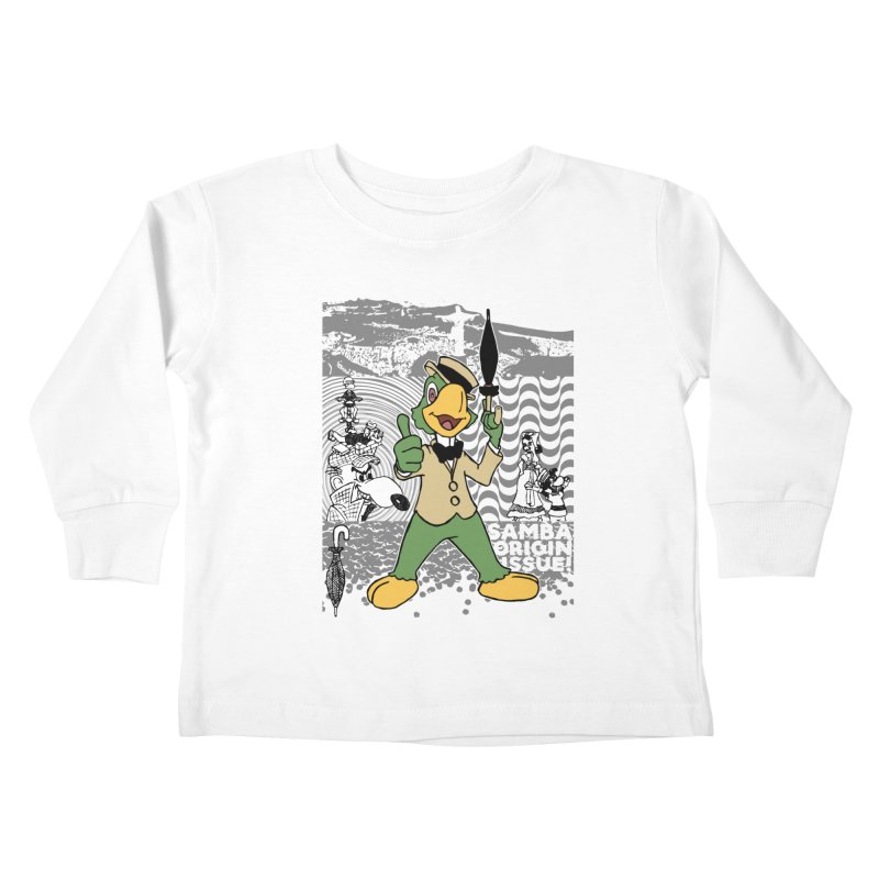 Agent of SAMBA Kids Toddler Longsleeve T-Shirt by Julio's Artist Shop