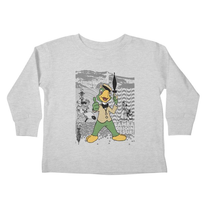 Agent of SAMBA Kids Toddler Longsleeve T-Shirt by Julio's Artist Shop