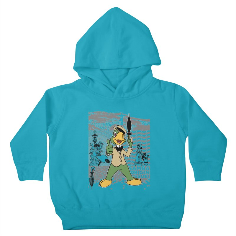 Agent of SAMBA Kids Toddler Pullover Hoody by Julio's Artist Shop