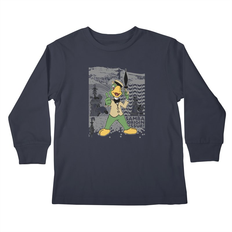 Agent of SAMBA Kids Longsleeve T-Shirt by Julio's Artist Shop