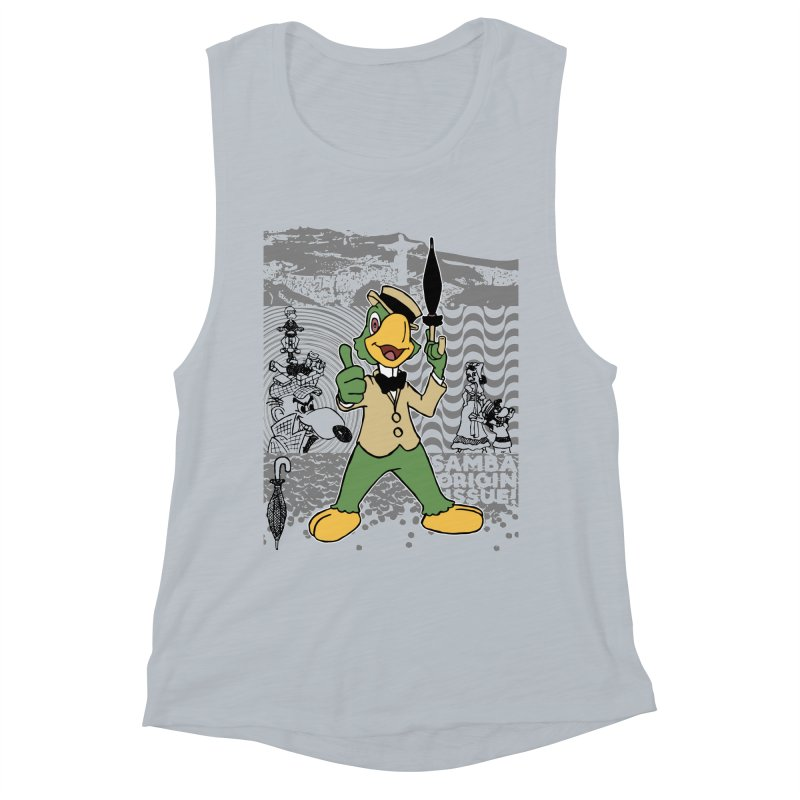 Agent of SAMBA Women's Muscle Tank by Julio's Artist Shop