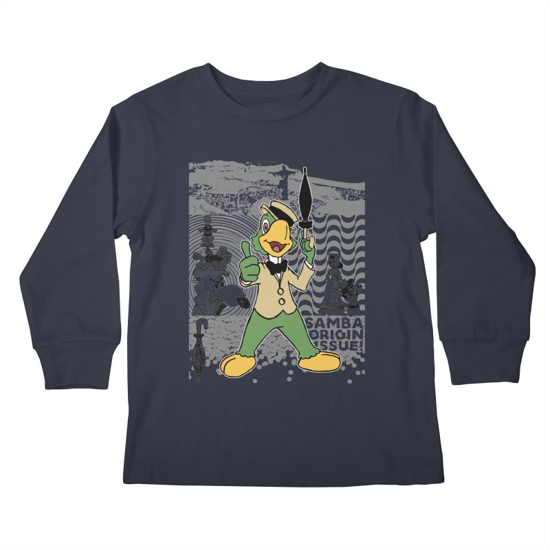 Agent of SAMBA Kids Longsleeve T-Shirt by Julio's Artist Shop