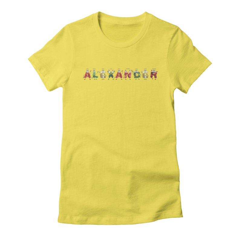 Alexander Women's T-Shirt by juliowinck's Artist Shop