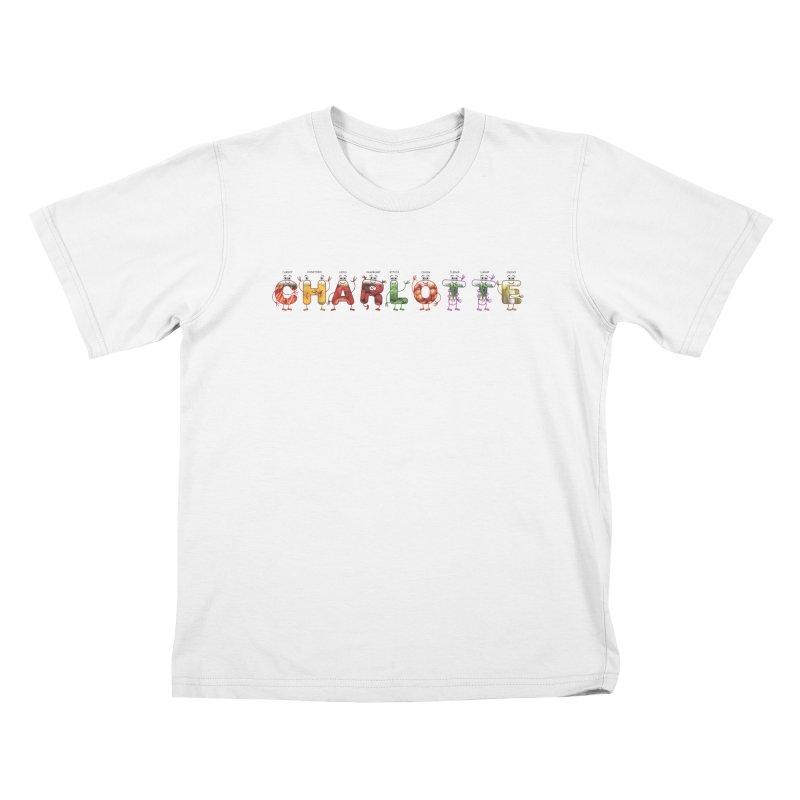 Charlotte Kids T-Shirt by juliowinck's Artist Shop