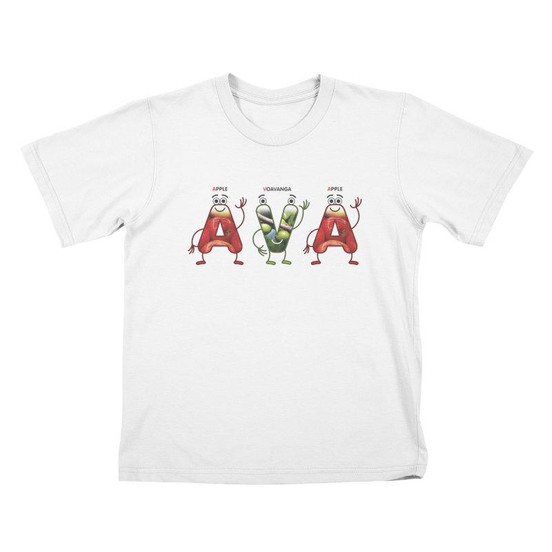 Ava Kids T-Shirt by juliowinck's Artist Shop