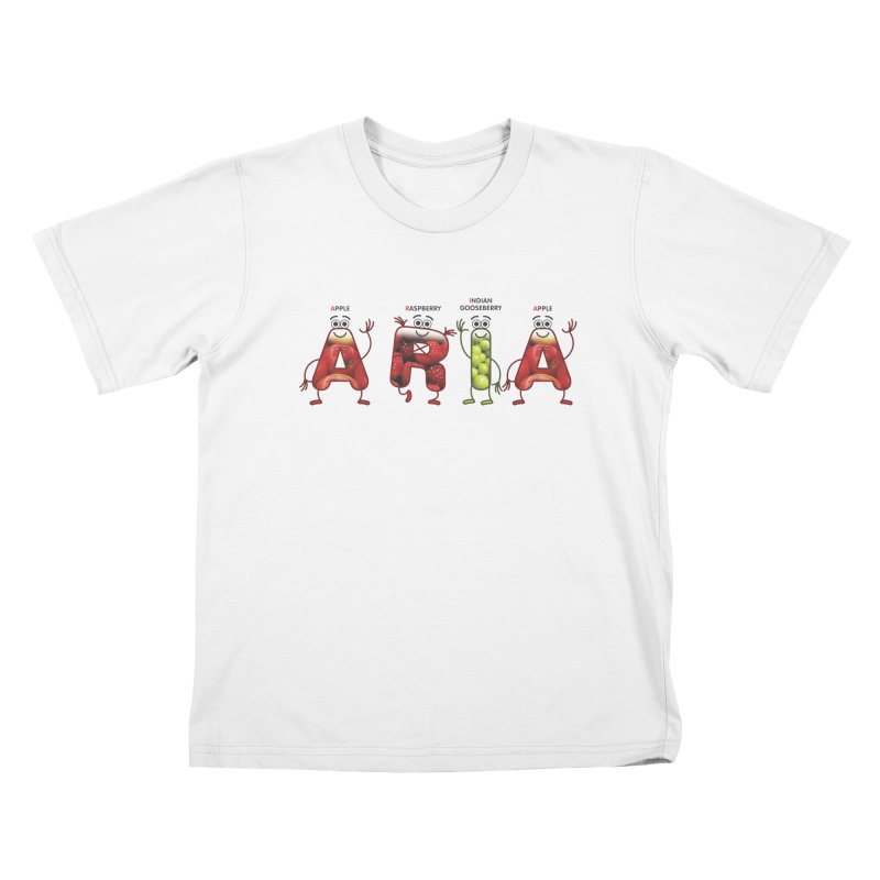 Aria Kids T-Shirt by juliowinck's Artist Shop