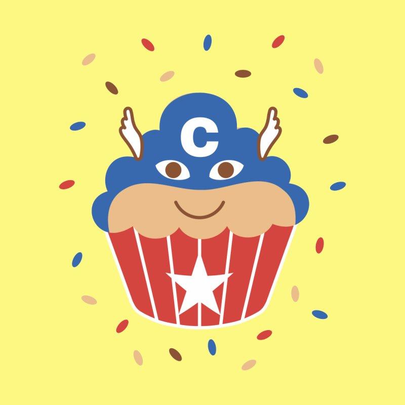Captain Cupcake Kids T-Shirt by juliowinck's Artist Shop