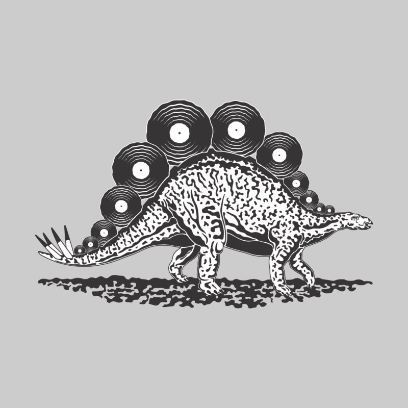 LPsaurus Men's T-Shirt by juliowinck's Artist Shop