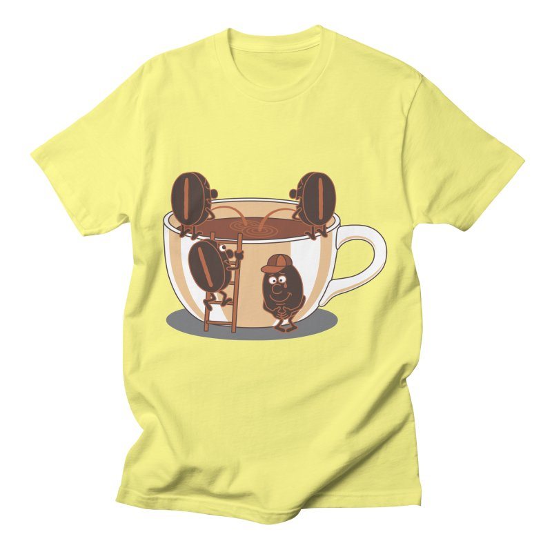 Coffee Men's T-Shirt by juliowinck's Artist Shop