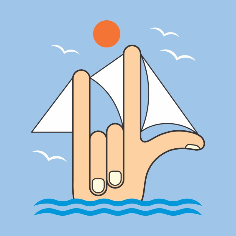 Sailboat Men's T-Shirt by juliowinck's Artist Shop