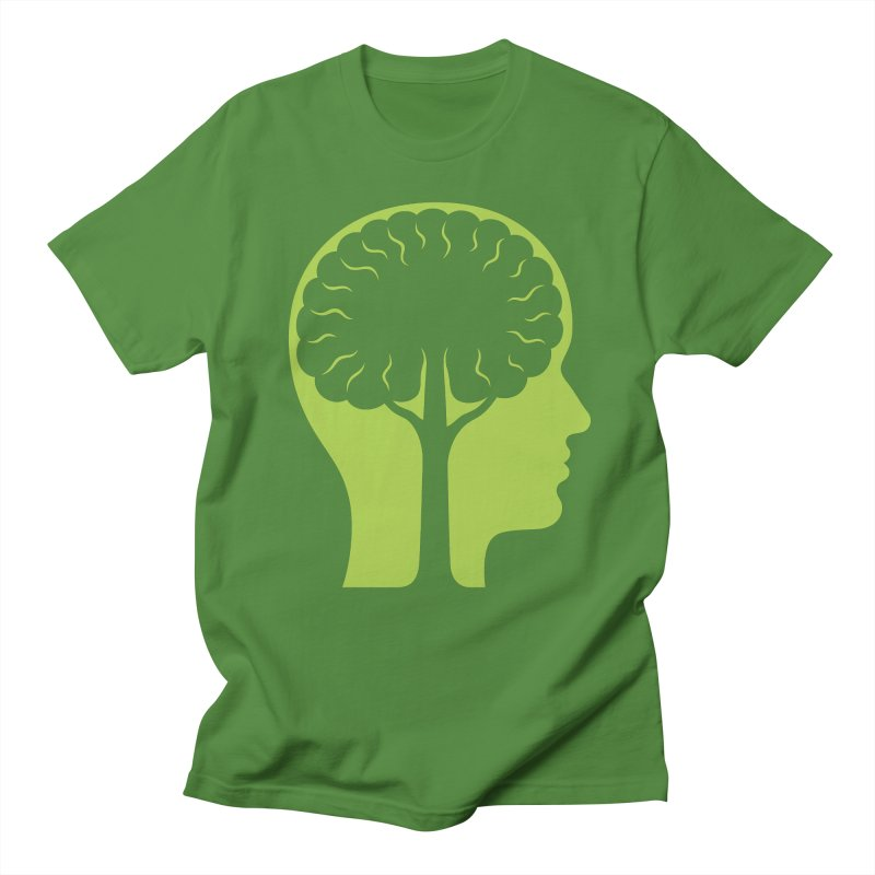 Think Green Men's T-shirt by juliowinck's Artist Shop