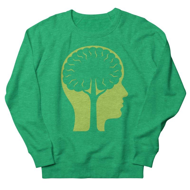 Think Green Men's Sweatshirt by juliowinck's Artist Shop