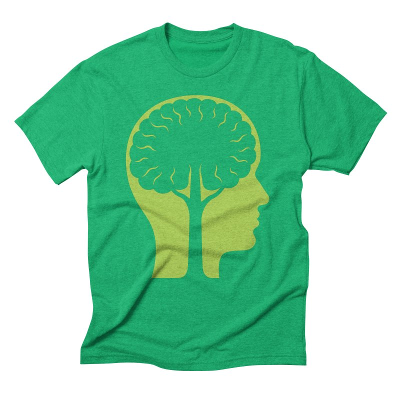 Think Green Men's Triblend T-Shirt by juliowinck's Artist Shop