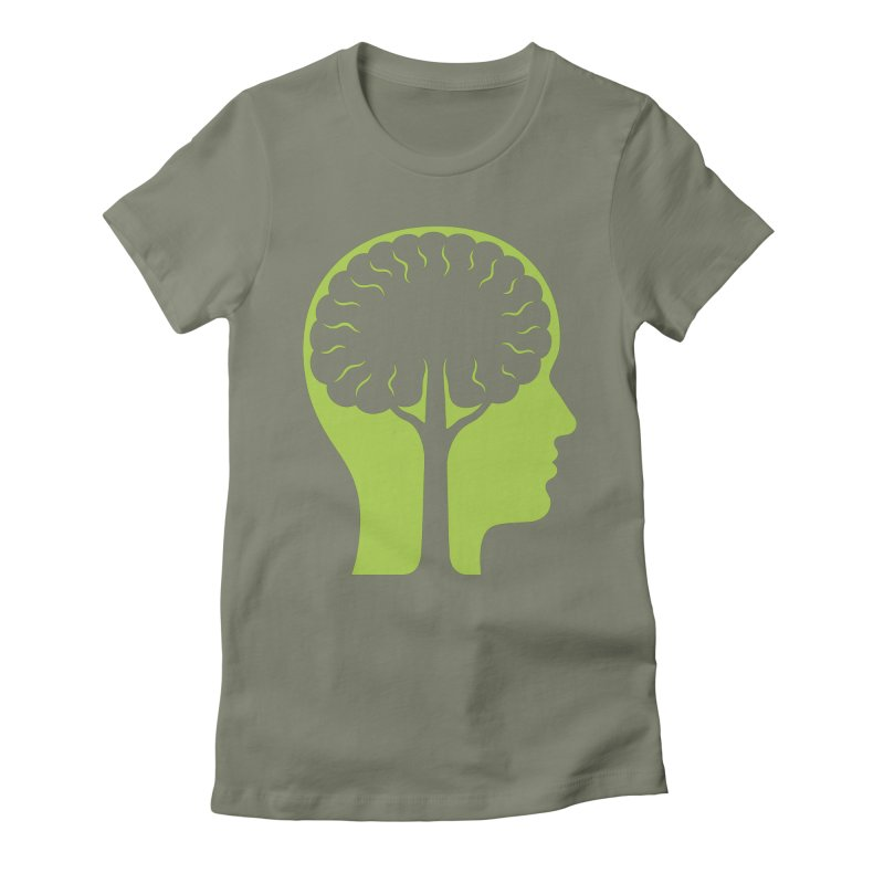 Think Green Women's T-Shirt by juliowinck's Artist Shop