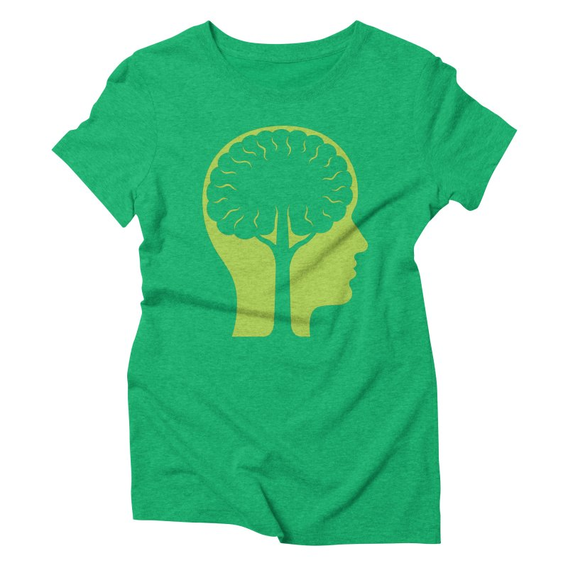 Think Green Women's Triblend T-Shirt by juliowinck's Artist Shop