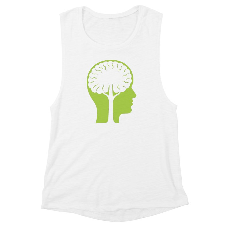 Think Green Women's Tank by juliowinck's Artist Shop