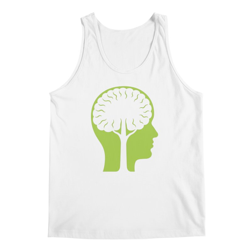 Think Green Men's Tank by juliowinck's Artist Shop