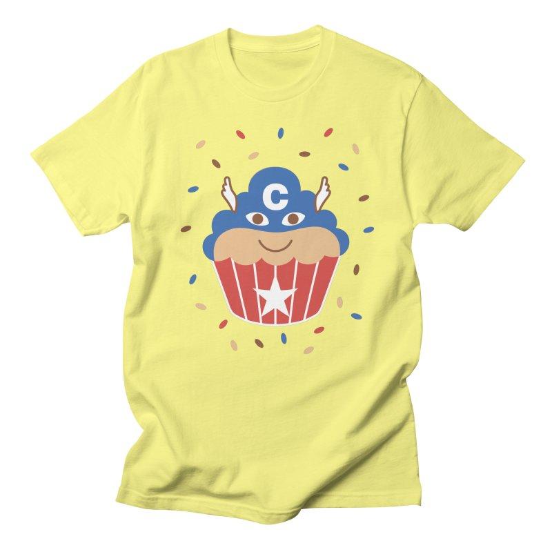 Captain Cake Men's T-Shirt by juliowinck's Artist Shop