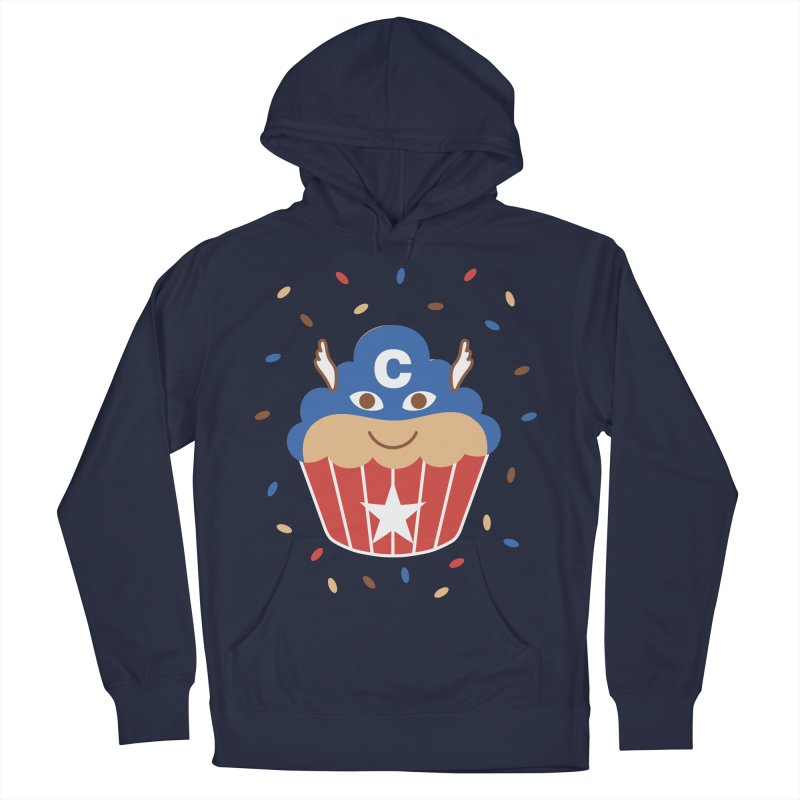 Captain Cake Men's French Terry Pullover Hoody by juliowinck's Artist Shop