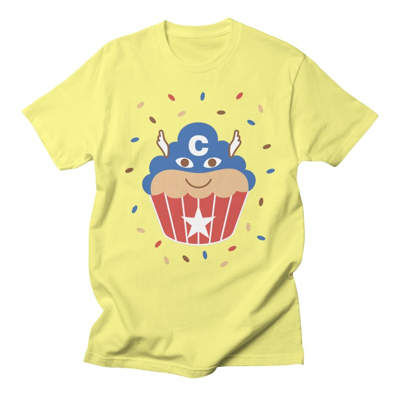 Captain Cake Men's Regular T-Shirt by juliowinck's Artist Shop