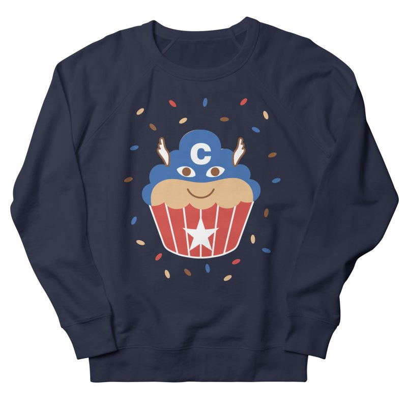 Captain Cake Men's French Terry Sweatshirt by juliowinck's Artist Shop