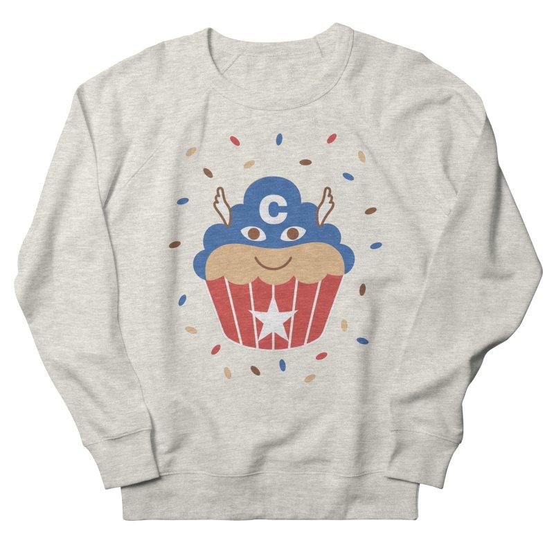 Captain Cake Men's French Terry Sweatshirt by juliowinck's Artist Shop