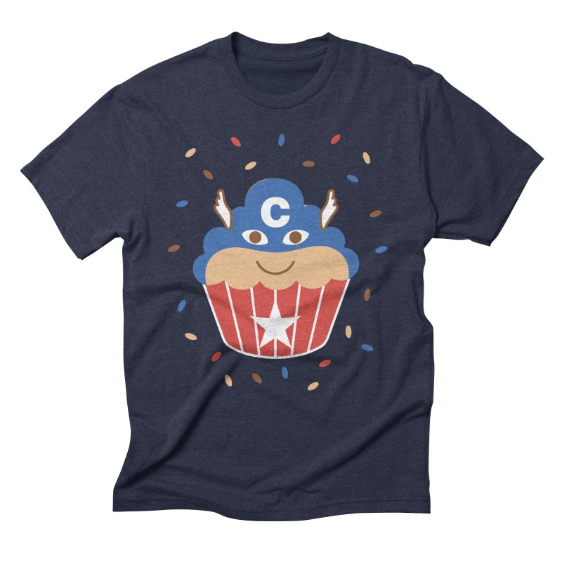 Captain Cake Men's Triblend T-shirt by juliowinck's Artist Shop