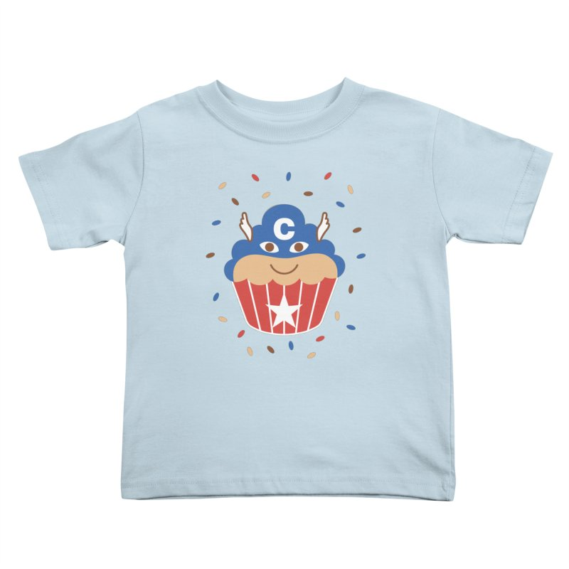 Captain Cake Kids Toddler T-Shirt by juliowinck's Artist Shop