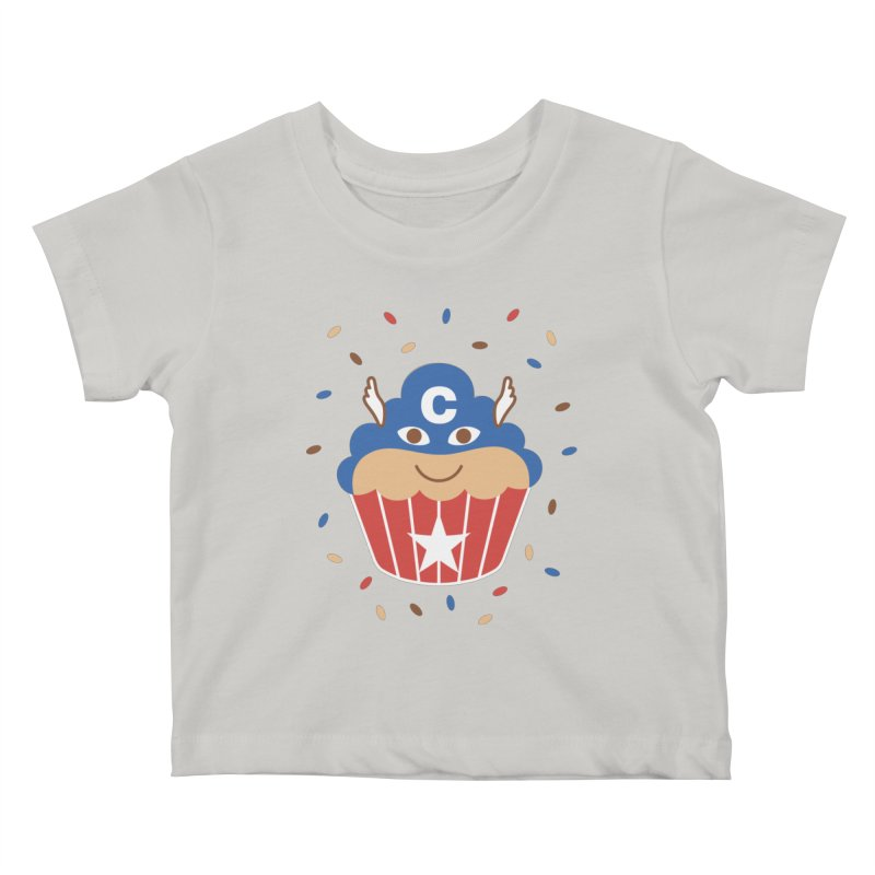 Captain Cake Kids Baby T-Shirt by juliowinck's Artist Shop