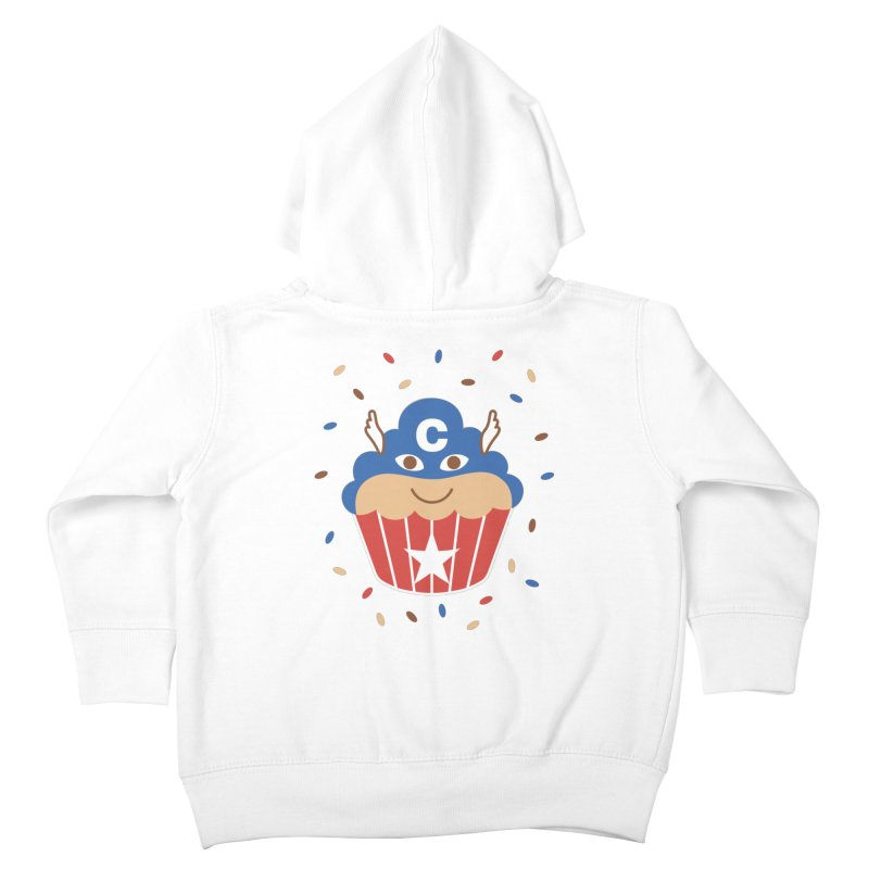 Captain Cake Kids Toddler Zip-Up Hoody by juliowinck's Artist Shop