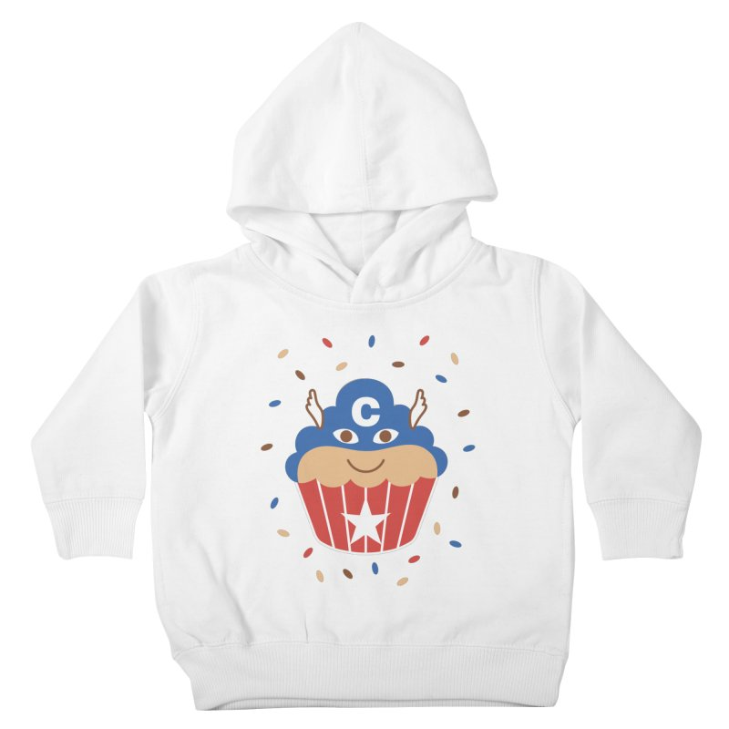 Captain Cake Kids Toddler Pullover Hoody by juliowinck's Artist Shop