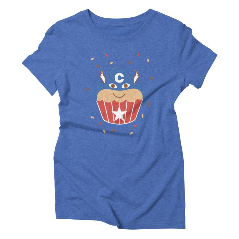 Captain Cake Women's Triblend T-Shirt by juliowinck's Artist Shop