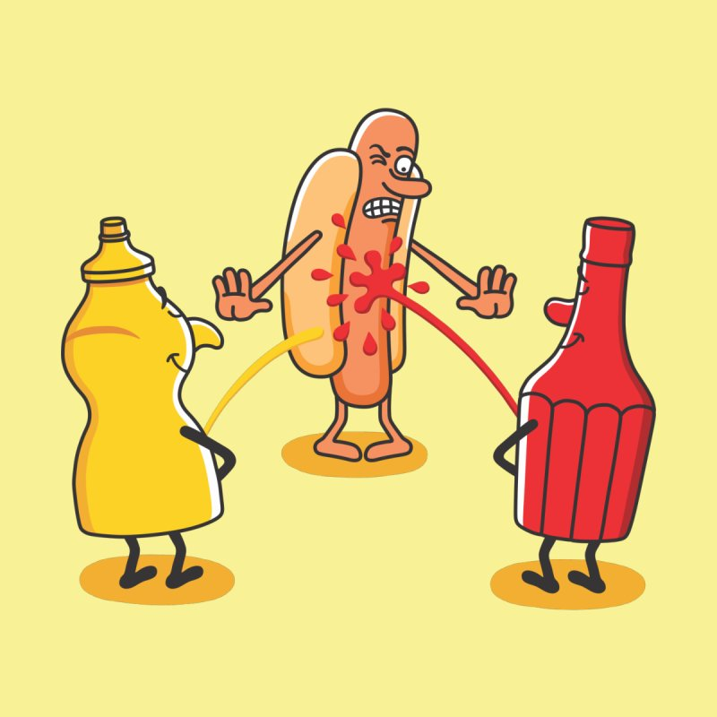 Ketchup None  by juliowinck's Artist Shop