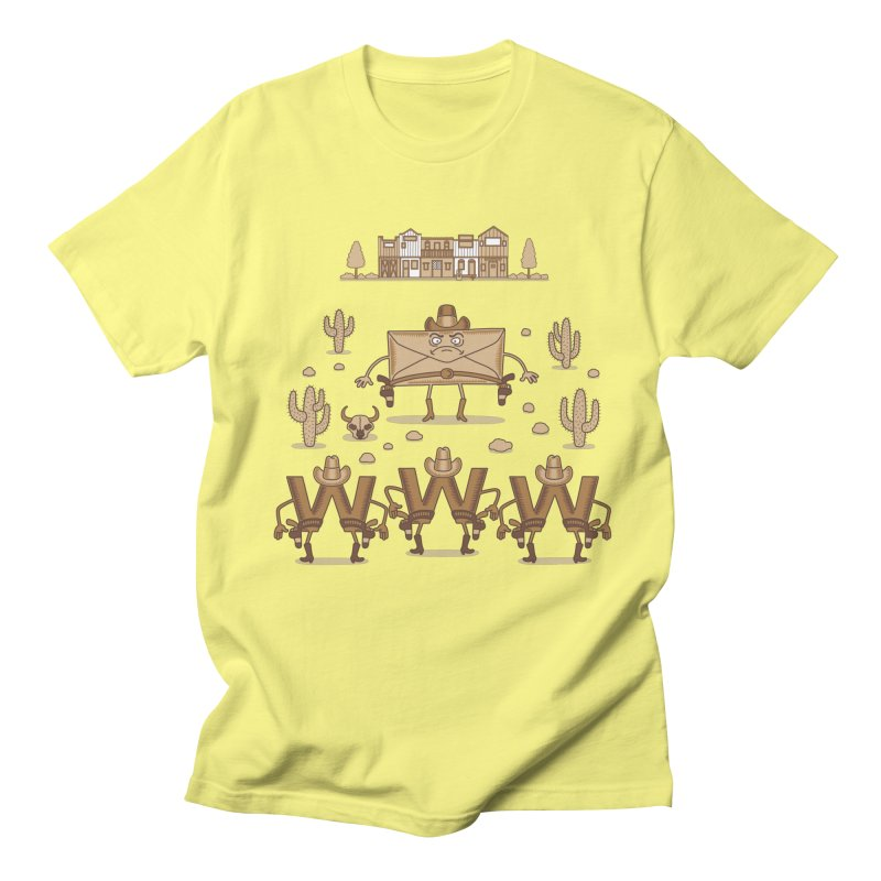 Unequal duel Men's T-Shirt by juliowinck's Artist Shop