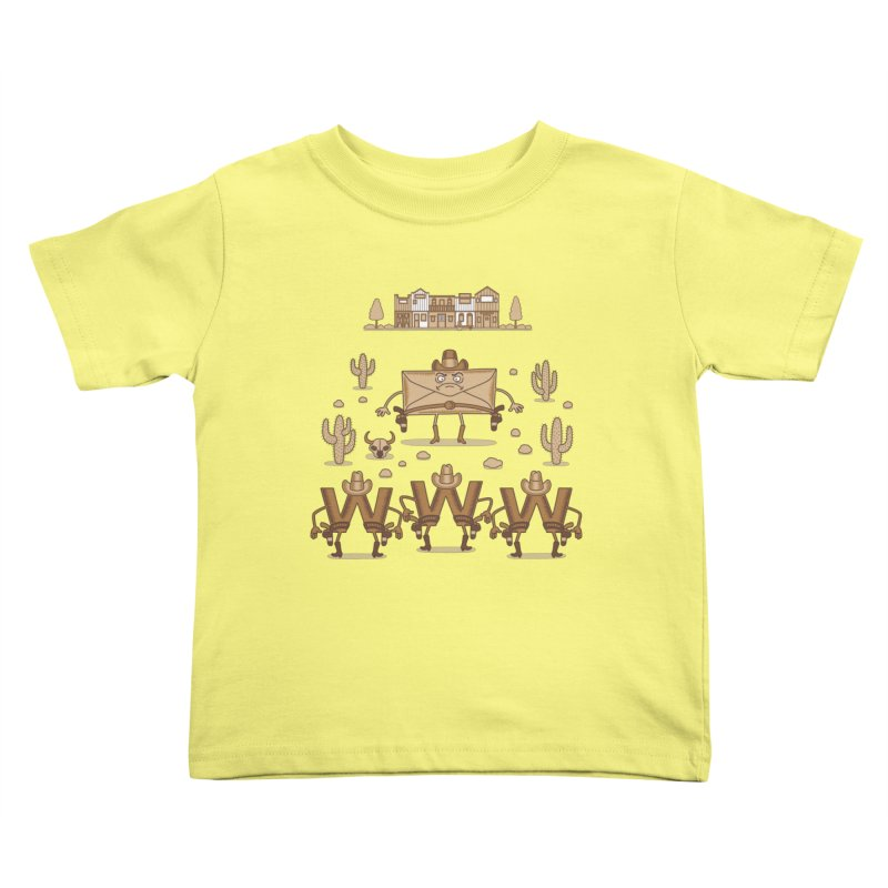 Unequal duel Kids Toddler T-Shirt by juliowinck's Artist Shop